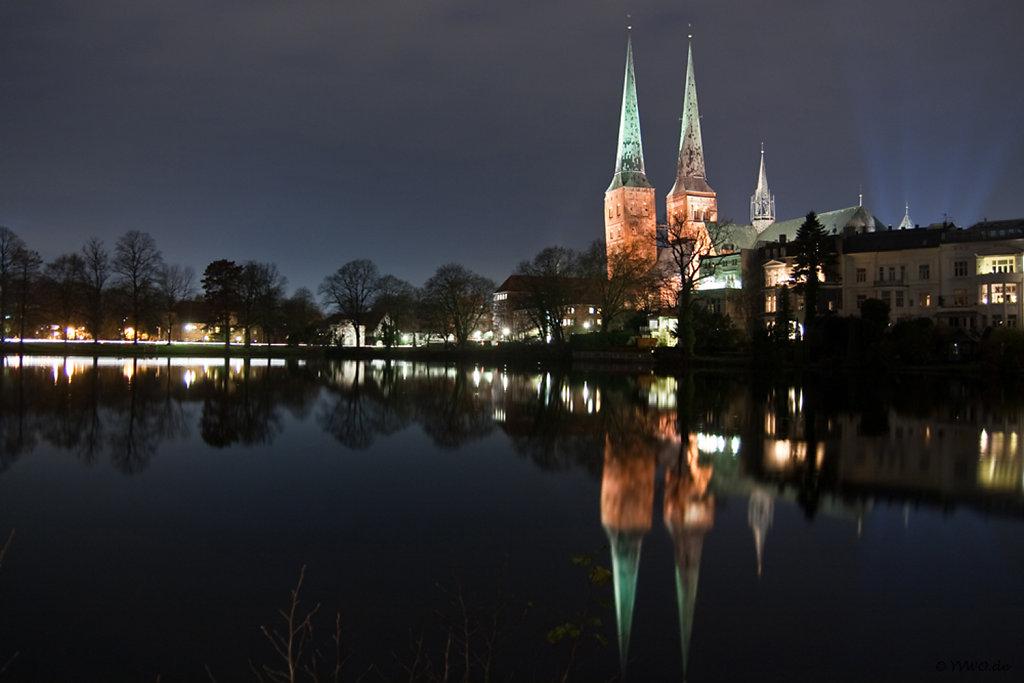 Lübeck @ night